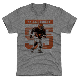 Myles Garrett Men's Premium T-Shirt | 500 LEVEL