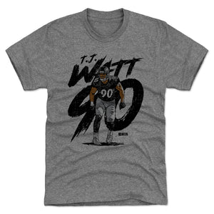 T.J. Watt Men's Premium T-Shirt | 500 LEVEL