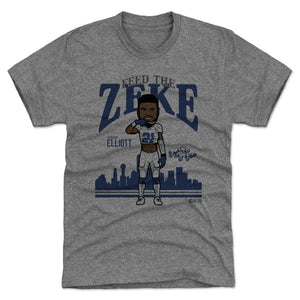 Ezekiel Elliott Men's Premium T-Shirt | 500 LEVEL