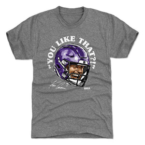 Kirk Cousins Men's Premium T-Shirt | 500 LEVEL