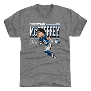 Christian McCaffrey Men's Premium T-Shirt | 500 LEVEL