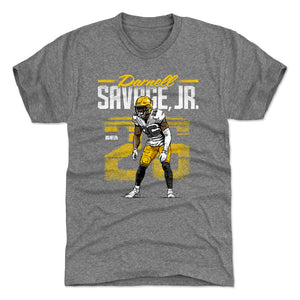Darnell Savage Jr. Men's Premium T-Shirt | 500 LEVEL