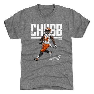 Nick Chubb Men's Premium T-Shirt | 500 LEVEL