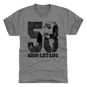 Kris Letang Men's Premium T-Shirt | 500 LEVEL