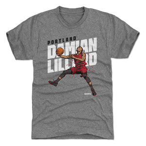 Damian Lillard Men's Premium T-Shirt | 500 LEVEL