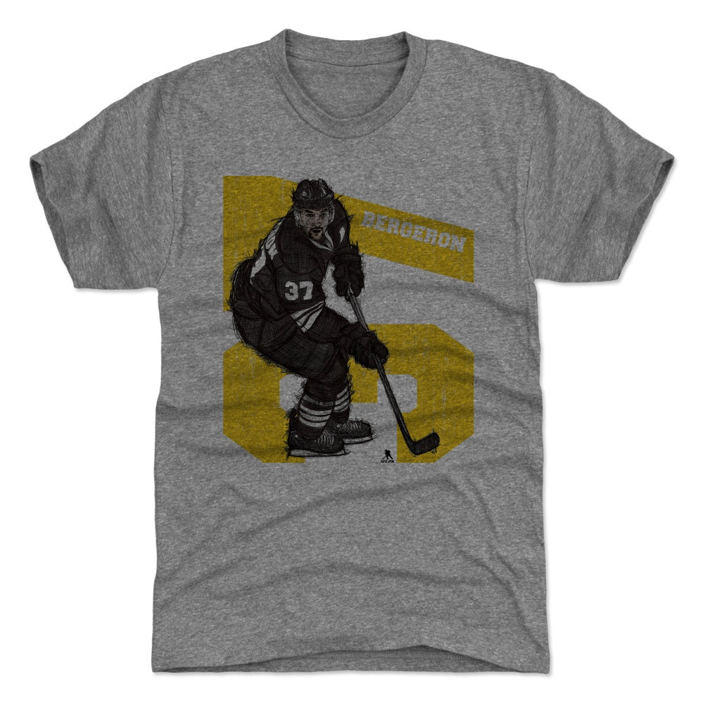 Patrice Bergeron Men's Premium T-Shirt | 500 LEVEL