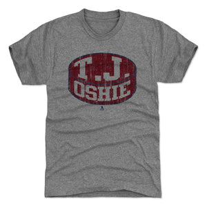 T.J. Oshie Men's Premium T-Shirt | 500 LEVEL