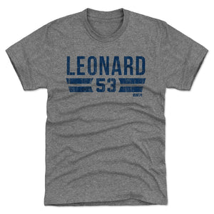 Darius Leonard Men's Premium T-Shirt | 500 LEVEL