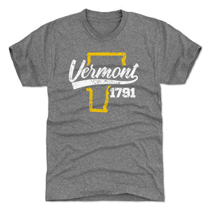 Vermont Men's Premium T-Shirt | 500 LEVEL