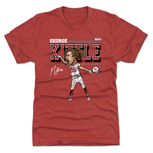 George Kittle Men's Premium T-Shirt | 500 LEVEL