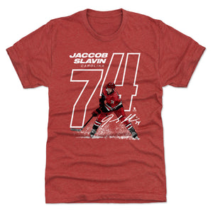 Jaccob Slavin Men's Premium T-Shirt | 500 LEVEL