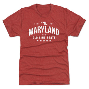Maryland Men's Premium T-Shirt | 500 LEVEL