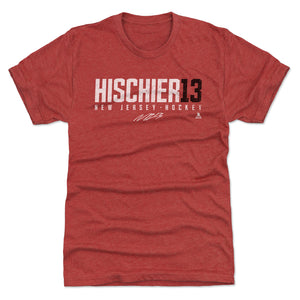 Nico Hischier Men's Premium T-Shirt | 500 LEVEL
