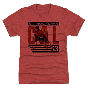 Johnny Gaudreau Men's Premium T-Shirt | 500 LEVEL