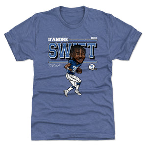 D'Andre Swift Men's Premium T-Shirt | 500 LEVEL