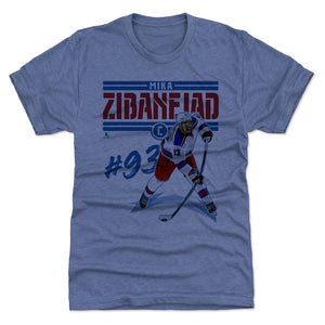 Mika Zibanejad Men's Premium T-Shirt | 500 LEVEL