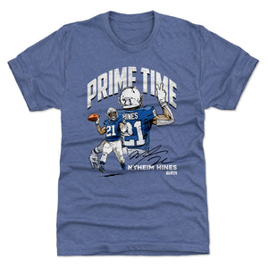 Nyheim Hines Men's Premium T-Shirt | 500 LEVEL