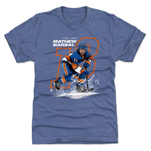 Mathew Barzal Men's Premium T-Shirt | 500 LEVEL