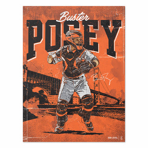 Buster Posey Poster | 500 LEVEL