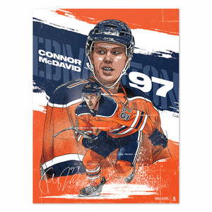 Connor McDavid Poster | 500 LEVEL