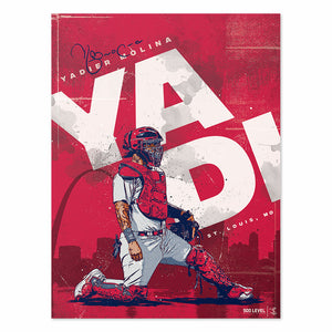 Yadier Molina Poster | 500 LEVEL