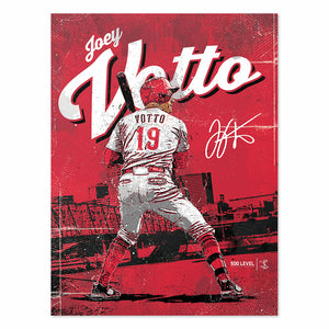 Joey Votto Poster | 500 LEVEL