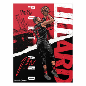Damian Lillard Poster | 500 LEVEL