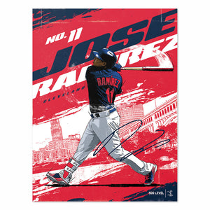 Jose Ramirez Poster | 500 LEVEL