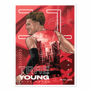 Trae Young Poster | 500 LEVEL