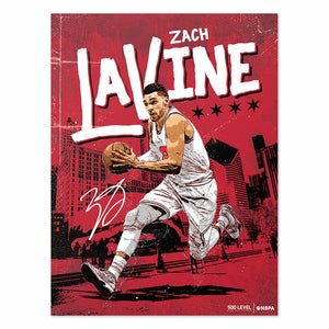 Zach LaVine Poster | 500 LEVEL