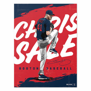 Chris Sale Poster | 500 LEVEL