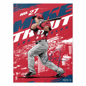 Mike Trout Poster | 500 LEVEL