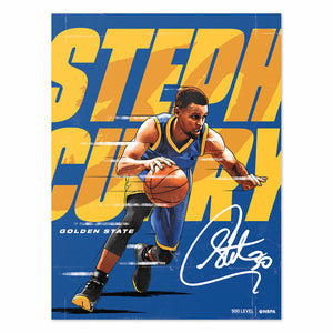 Steph Curry Poster | 500 LEVEL