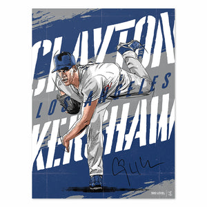 Clayton Kershaw Poster | 500 LEVEL