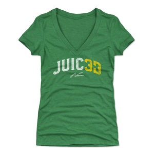 Jose Canseco Women's V-Neck T-Shirt | 500 LEVEL