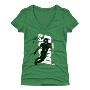 Boston Scott Women's V-Neck T-Shirt | 500 LEVEL