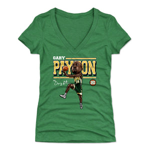 Gary Payton Women's V-Neck T-Shirt | 500 LEVEL