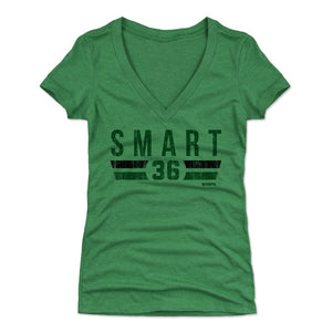 Marcus Smart Women's V-Neck T-Shirt | 500 LEVEL