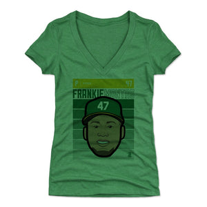 Frankie Montas Women's V-Neck T-Shirt | 500 LEVEL