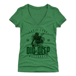 Chris Long Women's V-Neck T-Shirt | 500 LEVEL