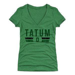 Jayson Tatum Women's V-Neck T-Shirt | 500 LEVEL