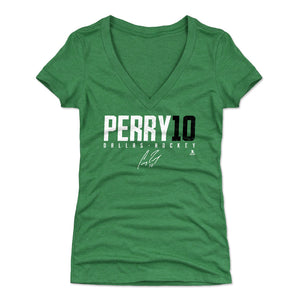 Corey Perry Women's V-Neck T-Shirt | 500 LEVEL
