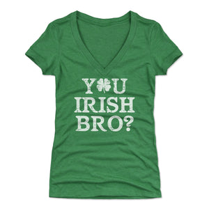 St. Patrick's Day Irish Women's V-Neck T-Shirt | 500 LEVEL