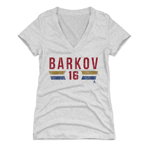 Aleksander Barkov Women's V-Neck T-Shirt | 500 LEVEL