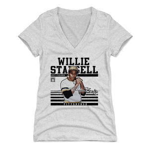 Willie Stargell Women's V-Neck T-Shirt | 500 LEVEL