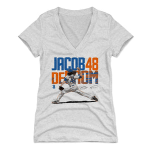 Jacob deGrom Women's V-Neck T-Shirt | 500 LEVEL