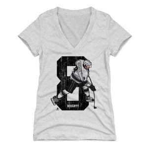 Drew Doughty Women's V-Neck T-Shirt | 500 LEVEL