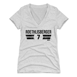 Ben Roethlisberger Women's V-Neck T-Shirt | 500 LEVEL