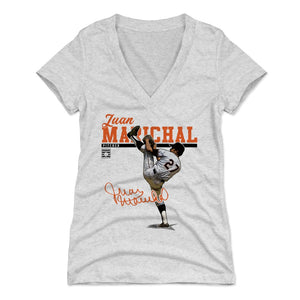 Juan Marichal Women's V-Neck T-Shirt | 500 LEVEL