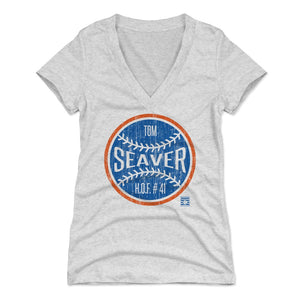Tom Seaver Women's V-Neck T-Shirt | 500 LEVEL